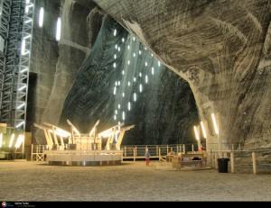 salt mine underground